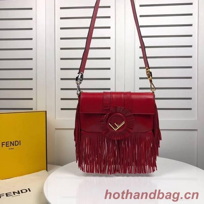 Fendi Shoulder Bag 59685 red