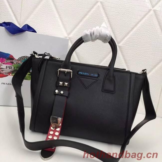 Prada Concept Leather handbag 1BA175 black
