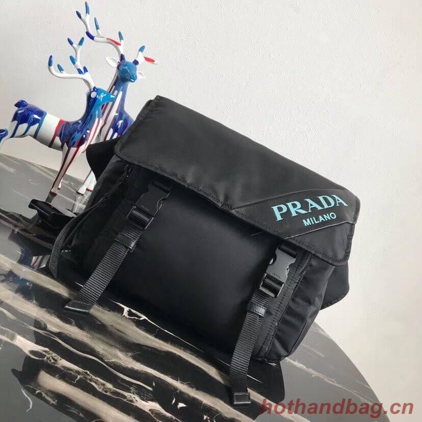 Prada Nylon shoulder bag 1BL015 black