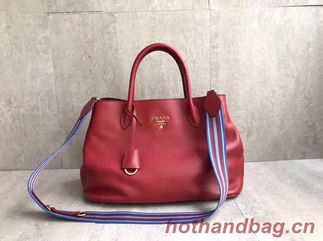 Prada Calf leather bag BN1579 red