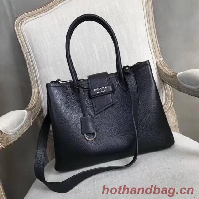 Prada Leather handbag 1BG148 black