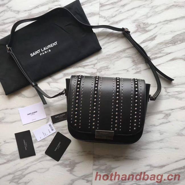 SAINT LAURENT leather shoulder bag Y550257 black