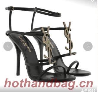 Yves Saint Laurent Pump Sandals Patent YSL263LWR
